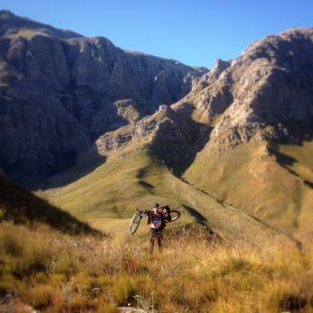 One of the most exciting moments in our lives - leaving the Stettynskloof!