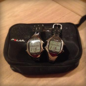 RS800CX watches kindly on loan from Polar